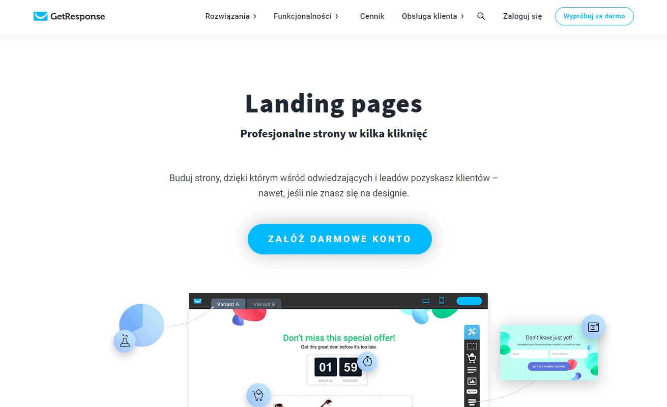 Landing page jak zrobić